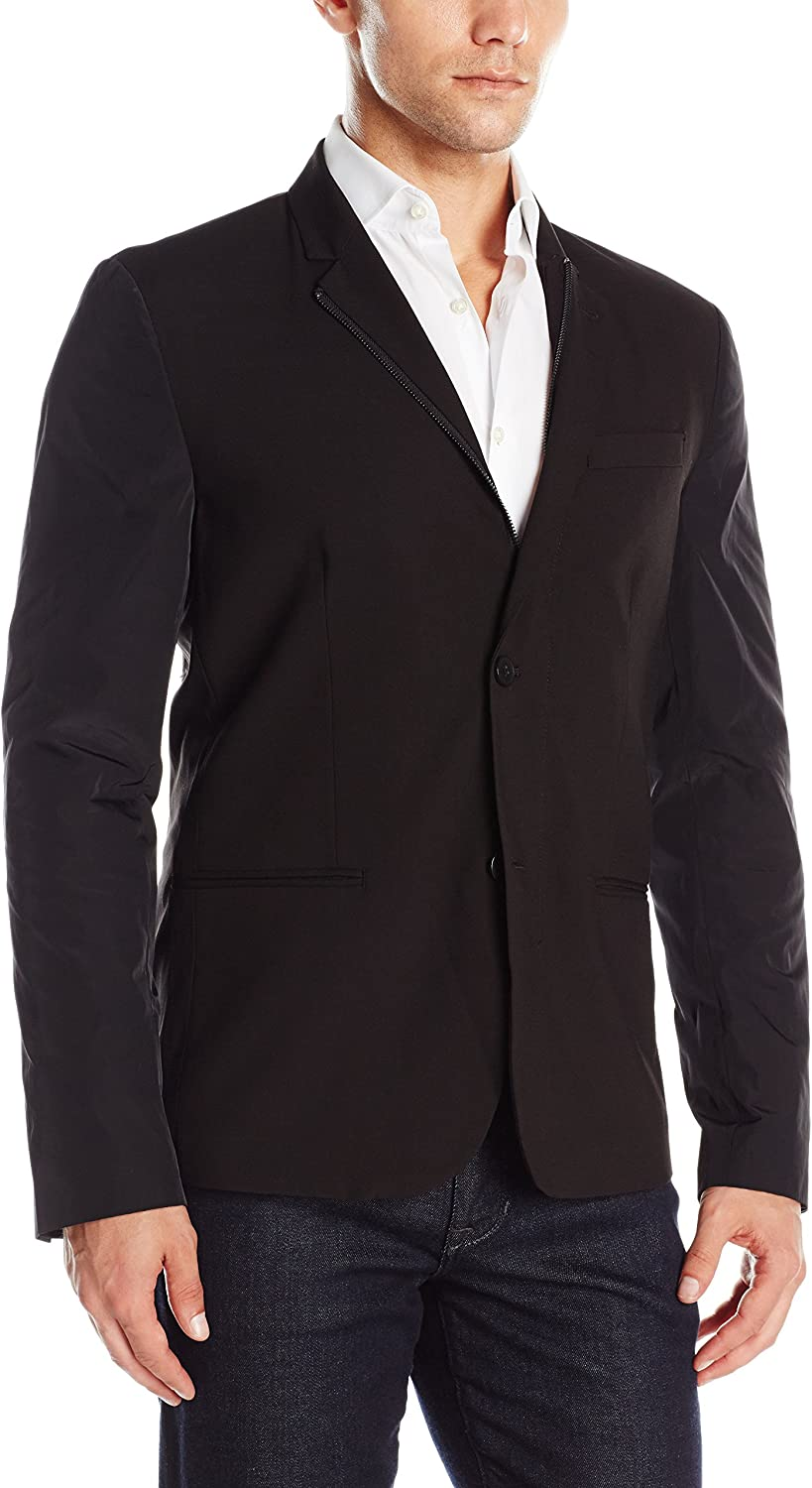 Kenneth Cole REACTION Mens Two Button Slim Fit Sport Coat