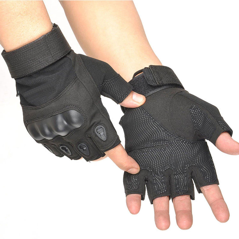 Freiesoldaten M/änner Outdoor Full//Half-Finger Fingerhandschuhe f/ür Radfahren Klettern Training Driving Motorrad Tactical Handschuhe