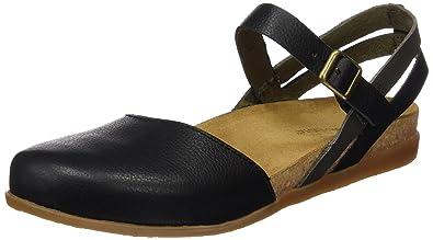El Naturalista NF45 SOFT GRAIN BROWN MIXED / ZUMAIA Marrone - Chaussures Sandale Femme