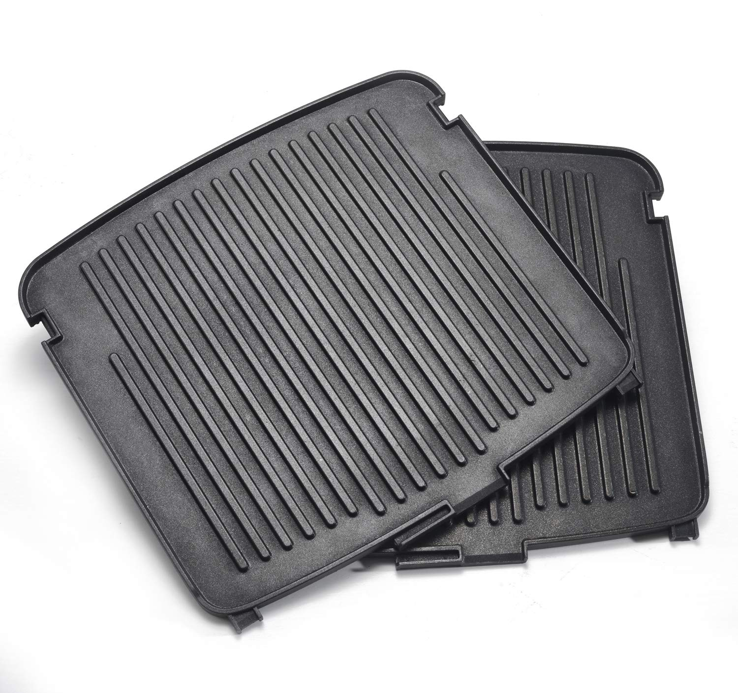UsKitchen Reversible Grill/Griddle Plates for Cuisinart Griddler GR-150 Deluxe
