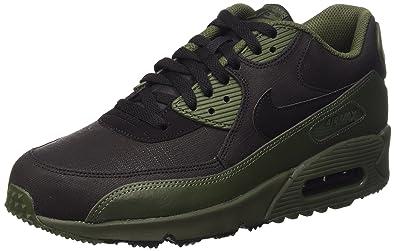 653556a9c10 Nike Air Max 90 Winter Prm, Men's Trainers, green (Carbon Green ...