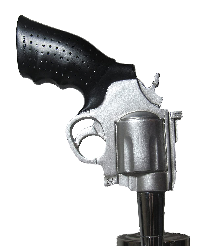 Kool Collectibles Revolver Pistol Grip Beer Tap Handle Sports Bar Kegerator Breweriana Gun