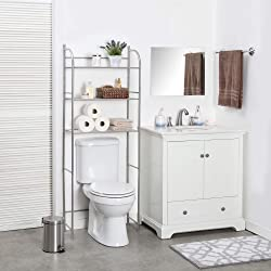 Home Zone Bathroom Shelving over the toilet