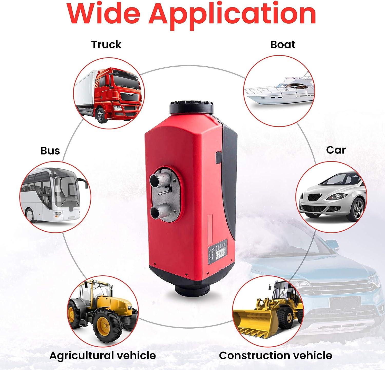maXpeedingrods 12V 8KW Diesel Air Heater LCD Display Remote Control For Van SUV Boat Caravan Motorhomes Lorry Caravan