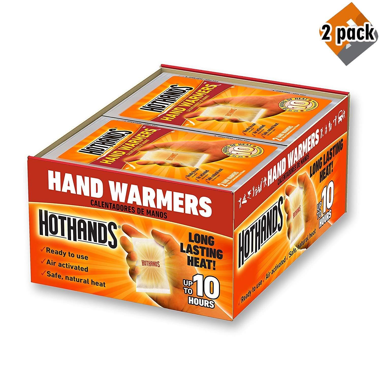 HeatMax Hot Hands 2 Handwarmer (40 Pairs) - 2 Pack by HeatMax