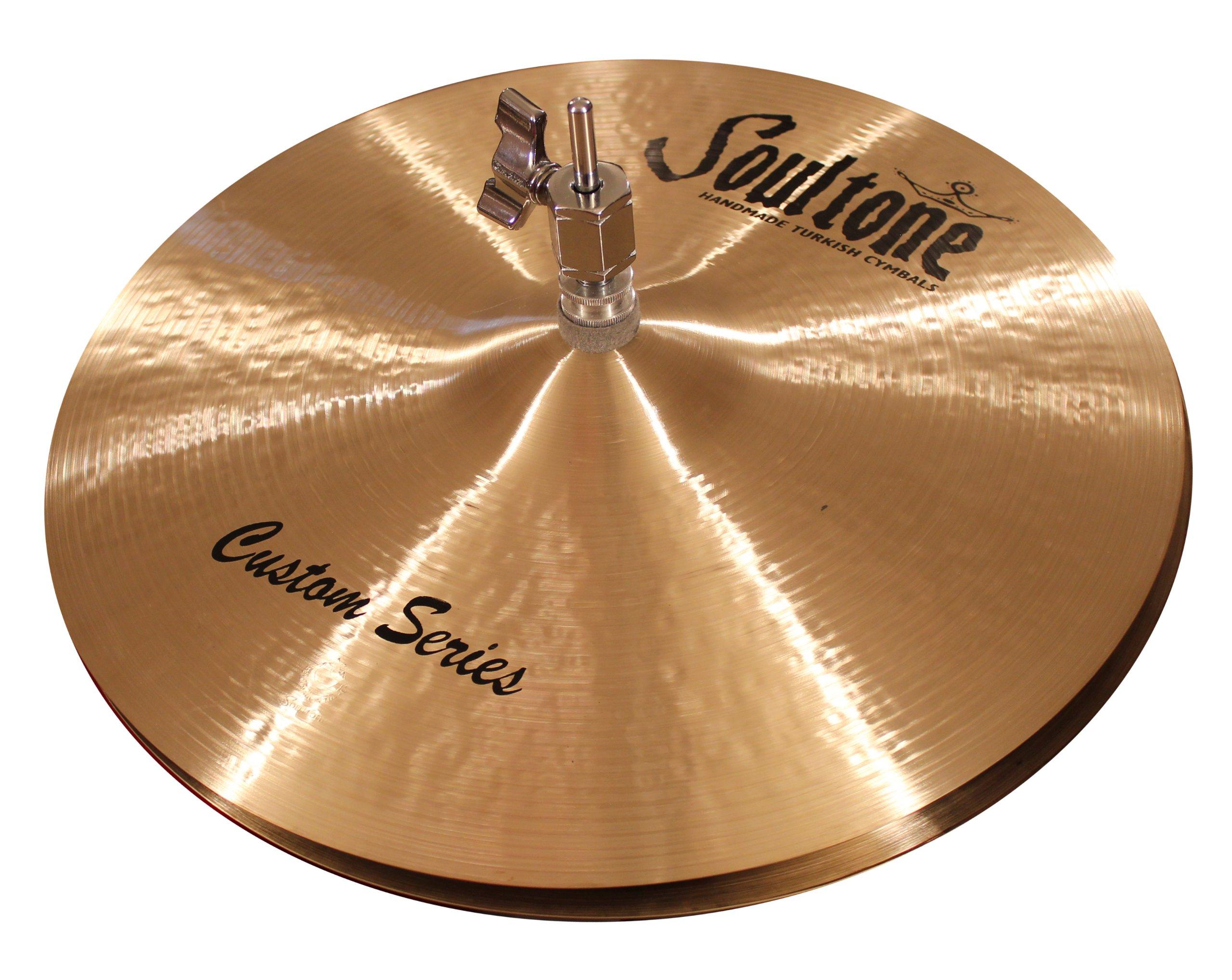 Soultone Cymbals CST-HHTT10-10'' Custom Hi Hat Top Only by Soultone Cymbals