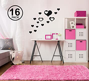 Amazoncom Heart Stickers For Wall Heart Decals For Wall Wall - Wall stickers for bedrooms teens