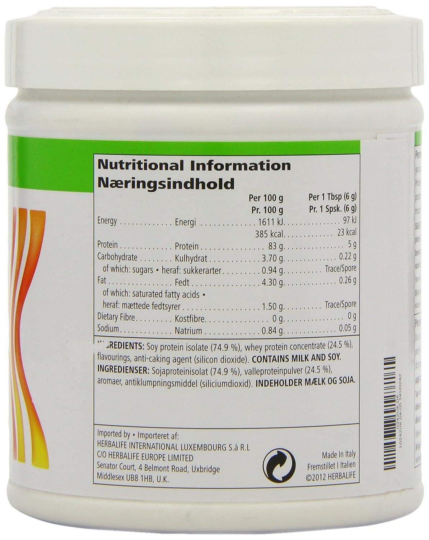 herbalife protein powder nutritional information  u2013 besto blog