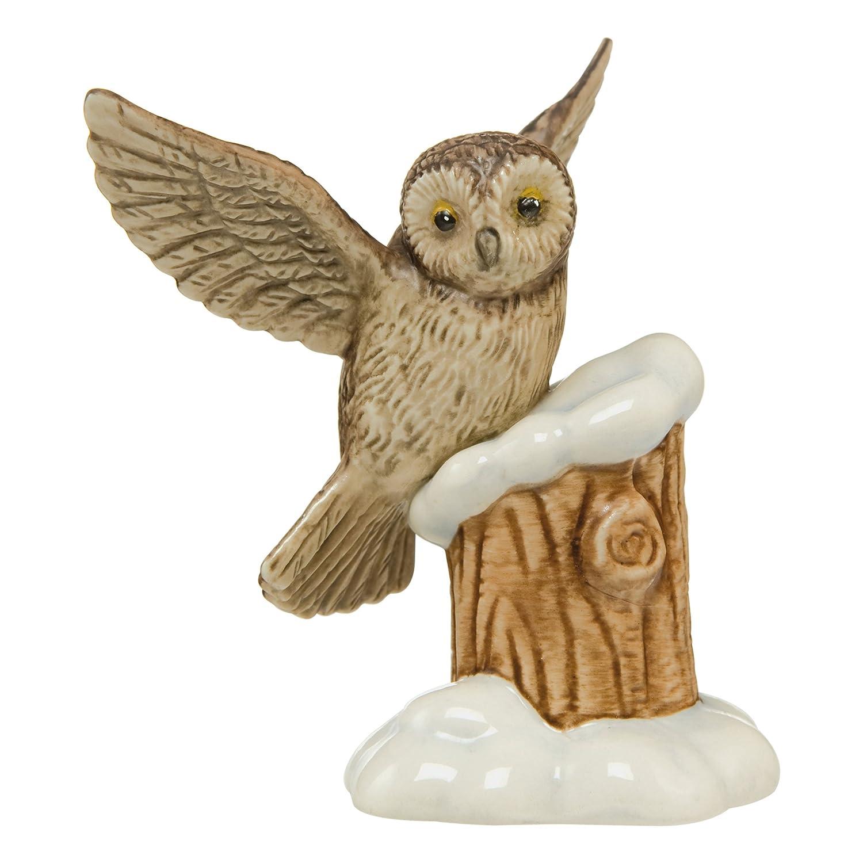 Goebel Weihnachten Winterwald Häschen Putzt Sich Weihnachtsdeko Dekofigur 5.5cm Porcelana i ceramika Według marki i pochodzenia