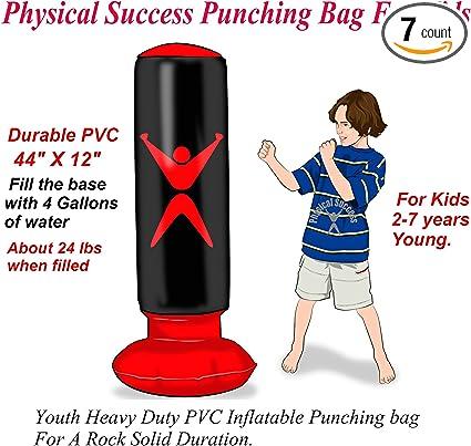 Amazon.com: Saco de boxeo para niños. Saco de boxeo ...