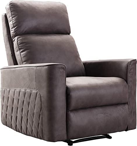 DKLGG Recliner Chair Padded Seat PU Leather