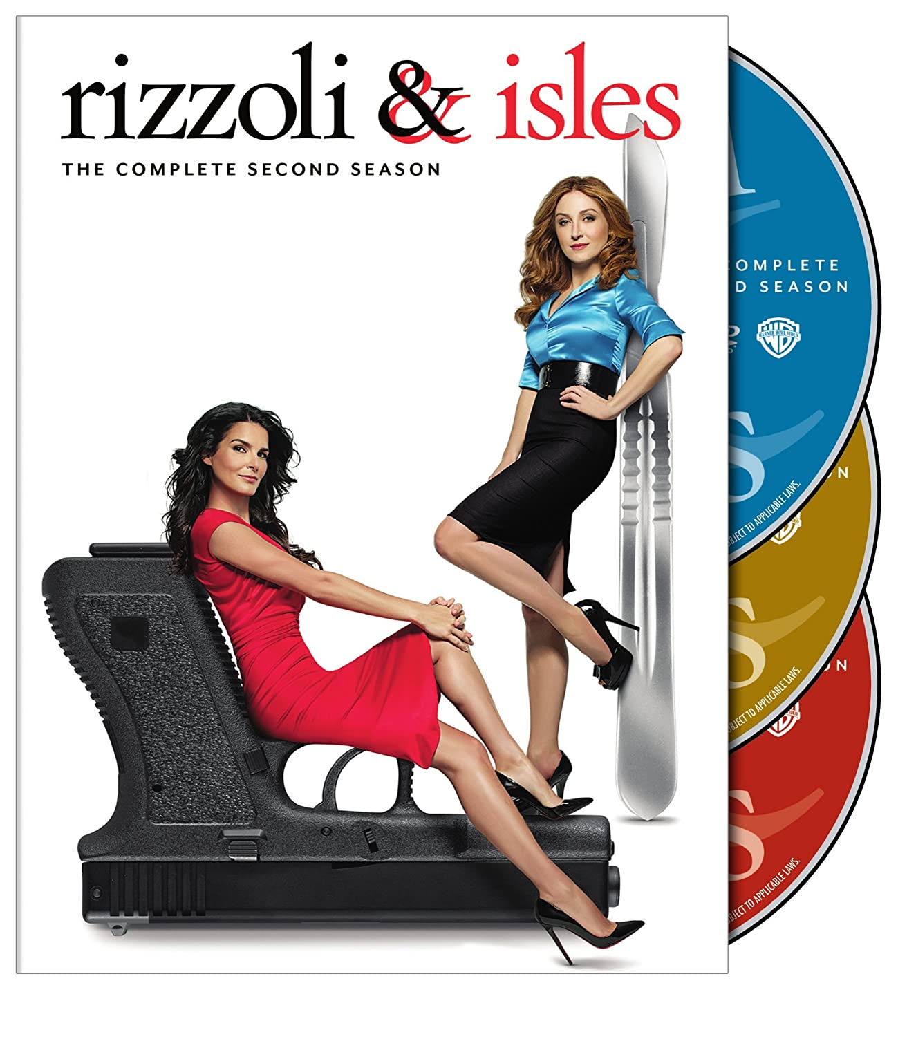 Rizzoli & Isles: The Complete Second Season Angie Harmon Sasha Alexander Jordan Bridges Lee Thompson Young