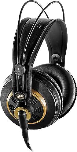AKG K240 Studio Headphones with Knox Gear Headphone Amplifier