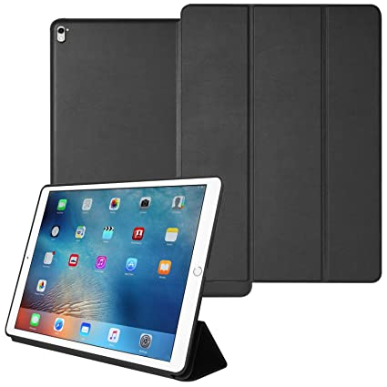 a08f796aaa2d DMG Smart Case Cover for Apple iPad Pro 9.7 inch/Pro 2 with Auto Sleep/Wake  Function, Slim-Fit, PU Leather (Black) - Buy DMG Smart Case Cover for Apple  iPad ...