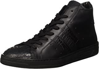 Bikkembergs Bounce 699 Mid Shoe M Leather, Baskets Hautes Homme