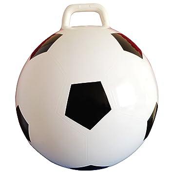 AppleRound Space Hopper - Bola con Bomba de Fútbol, 38 cm de ...