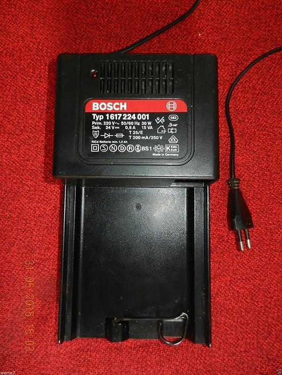 BOSCH Tipo: 1 617 224 001 cargador de batería 24 V ...
