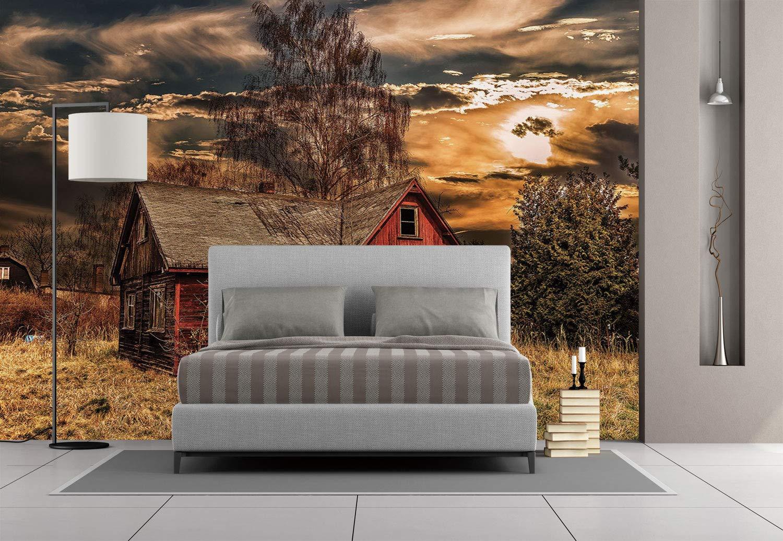 Amazon Com Large Wall Mural Sticker Scenery Decor Scary Horror