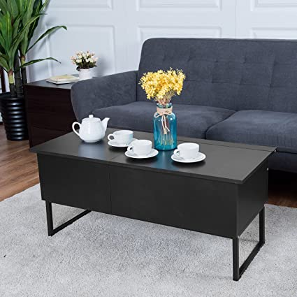 Amazoncom Tangkula Coffee Table Lift Top Home Living Room Modern