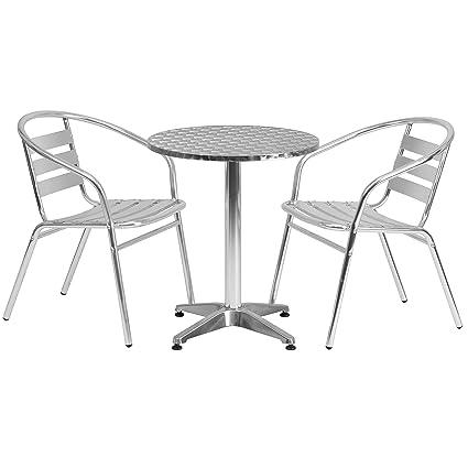 Amazon.com: Sillas de muebles de flash mesa redonda para ...