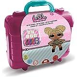 MULTIPRINT Travel Set valigetta in platica LOL - Juegos de Sellos para niños, Chica, 3 año(s), 230 mm, 105 mm, 190 mm