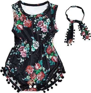 Qiylii Toddler Kids Baby Girl Leopard Dress V Back Sleeveless Ruffle Dresses+Headband Summer Casual Outfit
