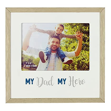Amazoncom Widdop Gift For Dad My Dad My Hero Photo Frame Gift