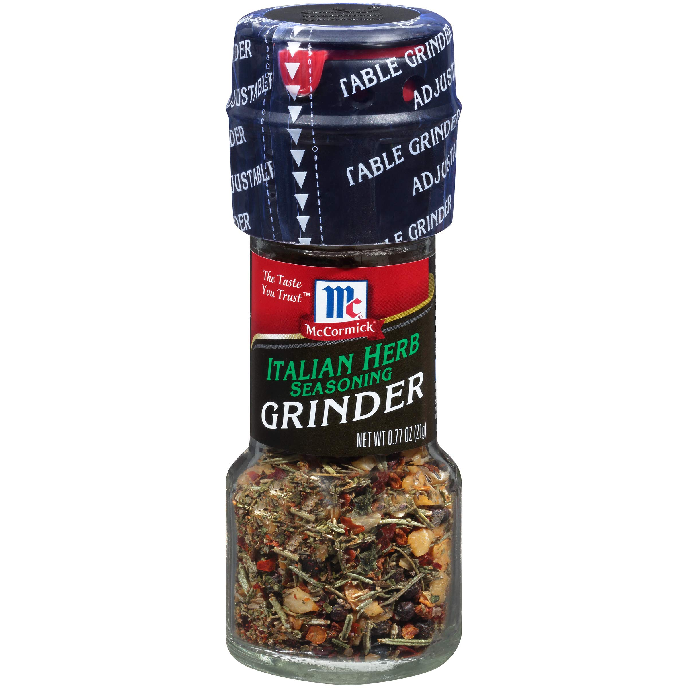 McCormick Italian Herb Seasoning Grinder, 0.77 oz (Pack of 6)