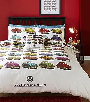 Volkswagen Voiture Coccinelle Parure De Lit Avec Housse De Couette