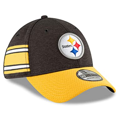 New Era 2018 3930 NFL Pittsburgh Steelers Sideline Home Hat Cap Flex Fit (S  b2a05ab22