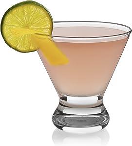 Libbey Cosmopolitan Martini Party Glasses, Set of 12
