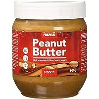 Prozis Foods Crema de Cacahuete, Sabor Cremoso - Pack de 4 x 500 gramos (Total: 2 kg)