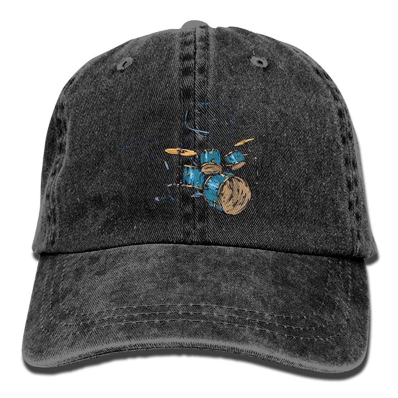 JTRVW Rex Drummer Unisex Cowboy Baseball Caps Style Low Hats