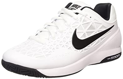 NIKE Mens Zoom Ascention Cool GreyWhiteVoltBlack AnkleHigh Fabric