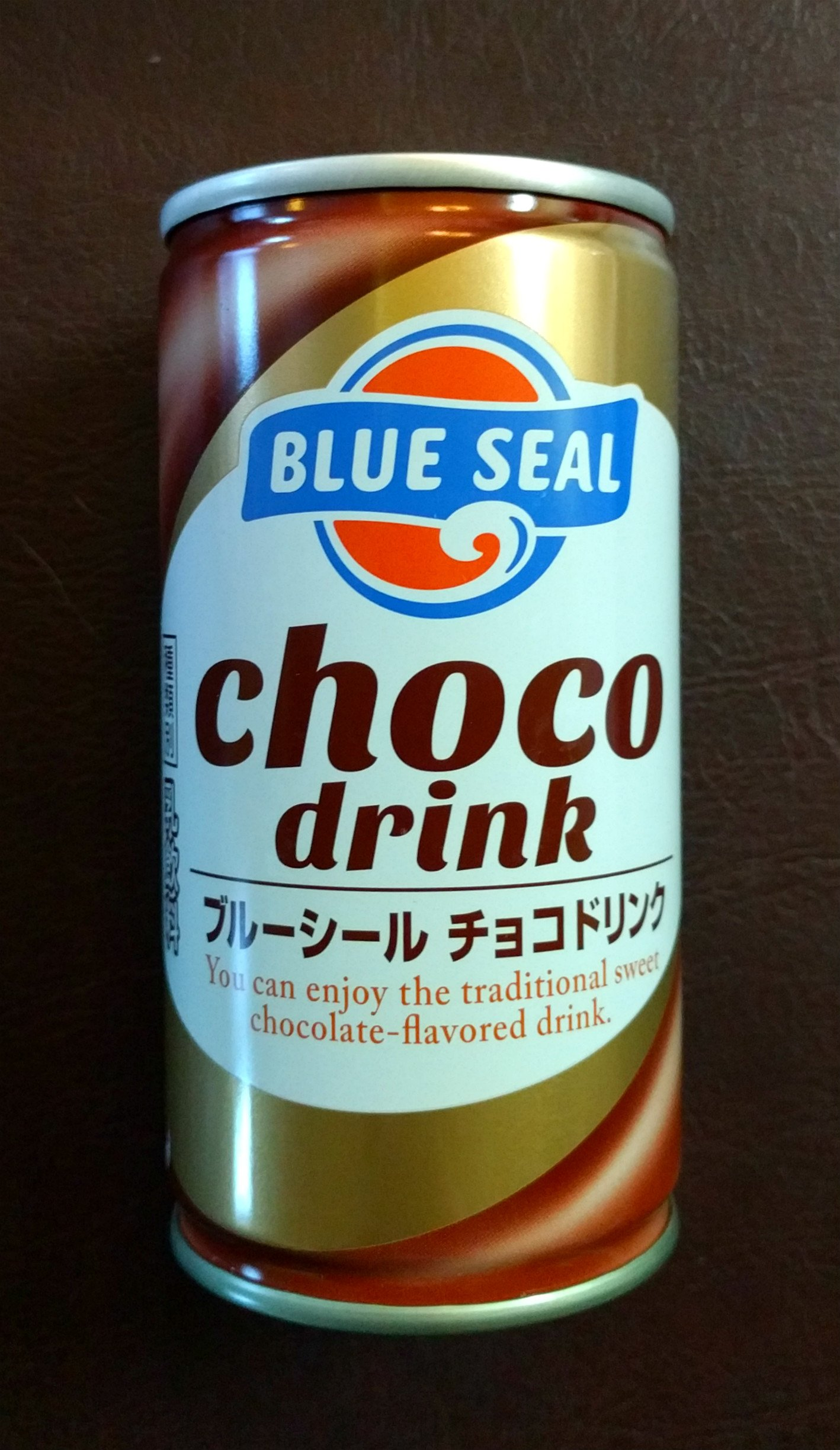 Blue Seal Choco Drink 190g/can (30 can) Okinawa sweet chocolate flavor drink by Blue Seal