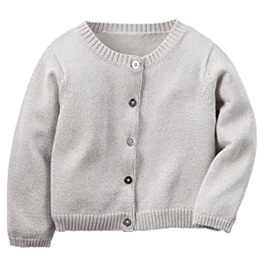 84421e35918 Image Unavailable. Image not available for. Color  Carters Baby Girls  Sparkle Cardigan ...