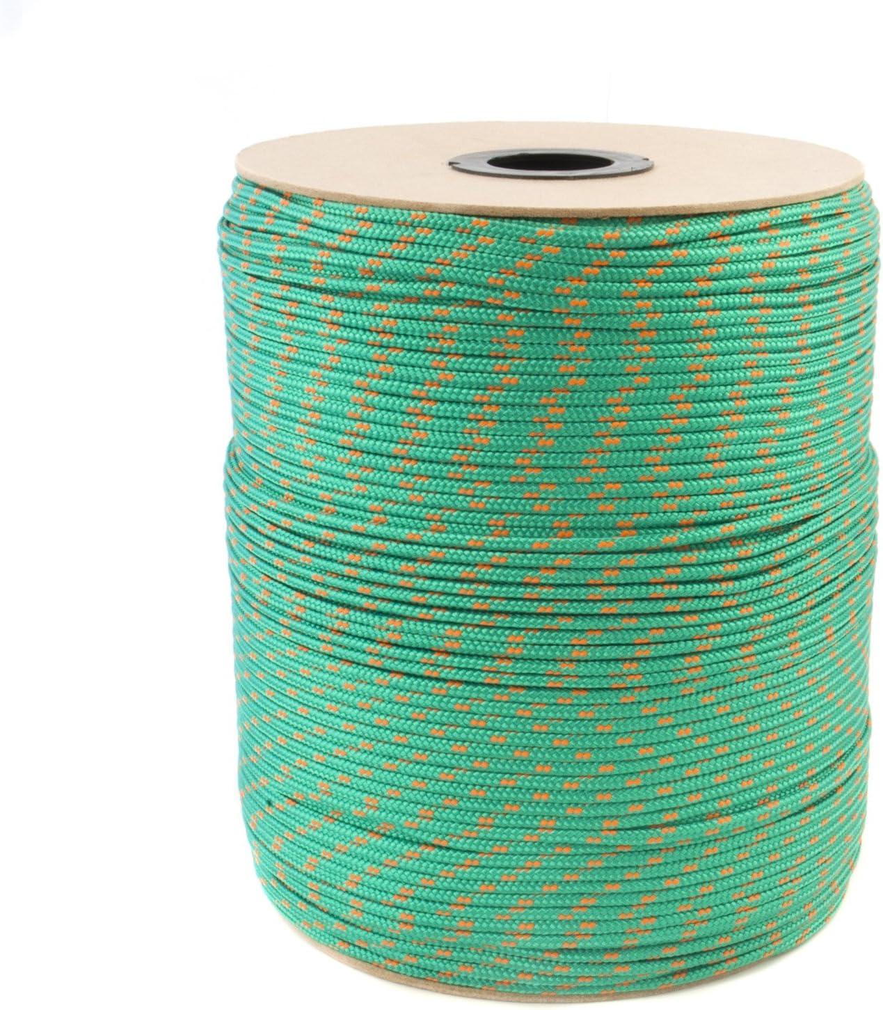 20m blanc corde polypropylene poly cordage 2mm plusieurs tailles et couleurs