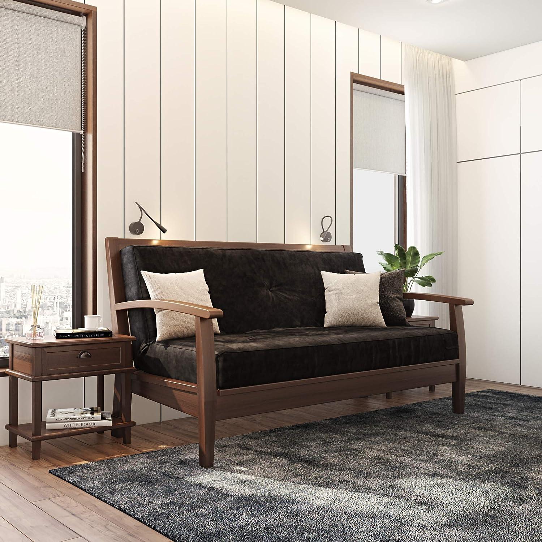 Outstanding Classic Brands Classic Black 8 Inch Futon Mattress With Independently Encased Innerspring Coils Full Inzonedesignstudio Interior Chair Design Inzonedesignstudiocom