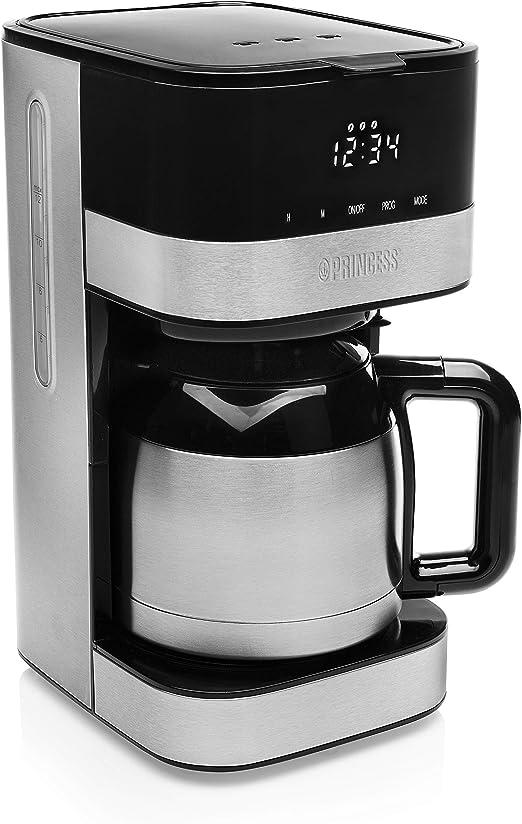 Princess 246012 Cafetera isotérmica Deluxe Lucca - Jarra térmica - 12 tazas: Amazon.es: Hogar