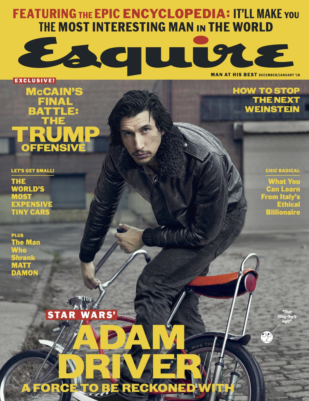 Read Online Esquire December 2017 pdf epub
