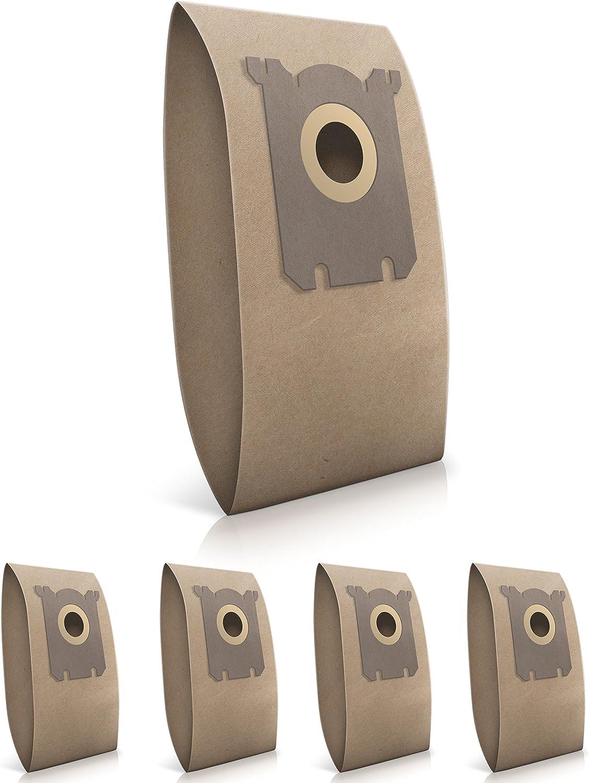 5 Pezzi, Carta Wessper/® Sacchetti per aspirapolvere Philips Mobilo Plus HR8566////C