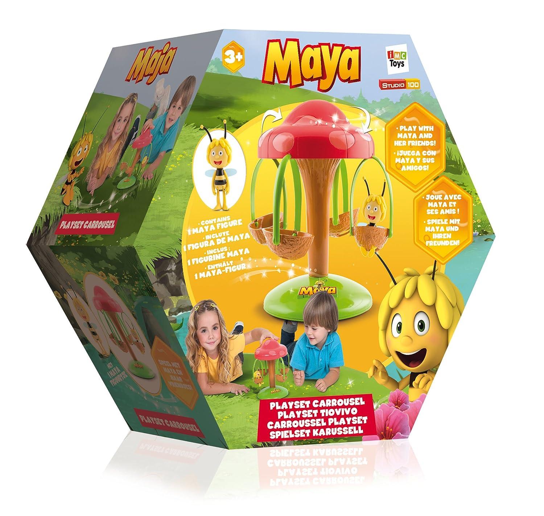 IMC Toys MB Biene Maja Karussell Kleinkindspielzeug
