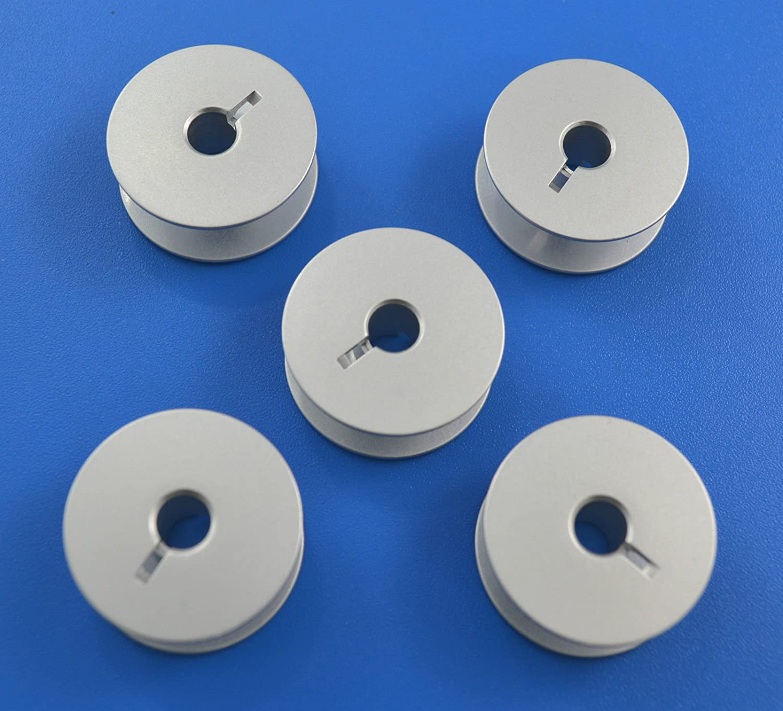 5 x Bobbins ADLER Durkopp 367,467,767,867 máquina de coser ...