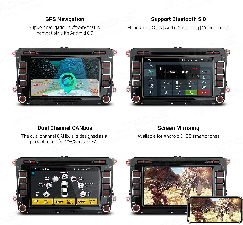 Xtrons 7 Zoll Android 10 0 Autoradio Kopfeinheit Passt Elektronik