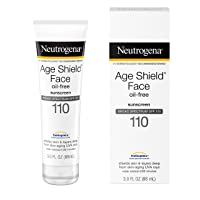 Neutrogena Age Shield Face Lotion Sunscreen with Broad Spectrum SPF 110, Oil-Free...