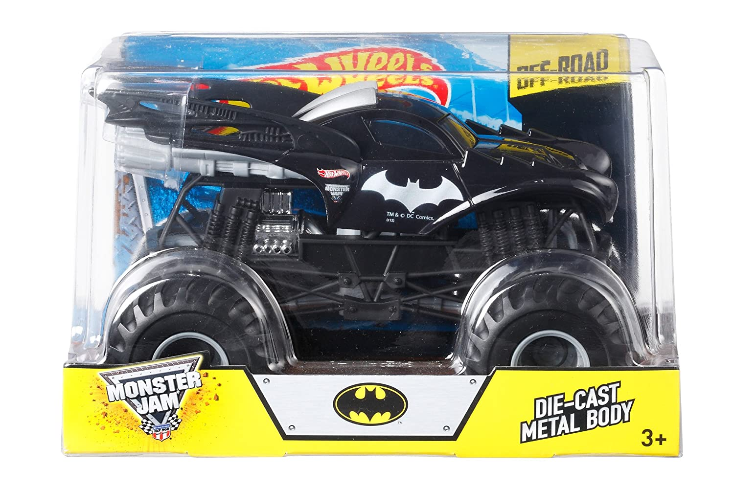 Amazon Com Hot Wheels Monster Jam Batman Die Cast Vehicle