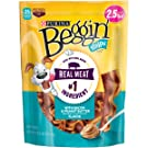Purina Beggin' Strips Made in USA Facilities Dog Training Treats; with Bacon & Peanut Butter Flavor - 40 oz. Pouch