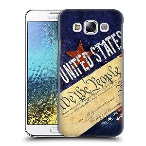 Official Jason Bullard We The People America Hard Back Case for Samsung Galaxy E5