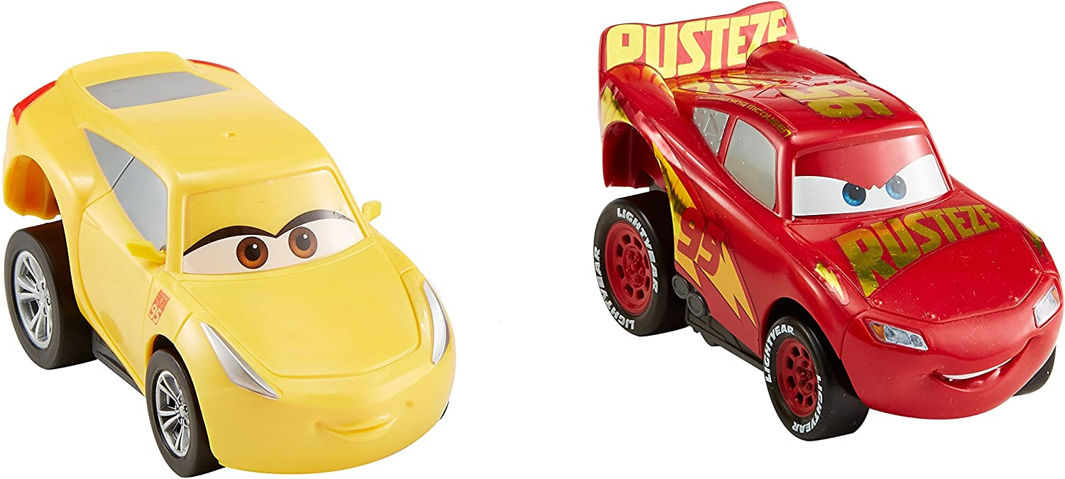 Amazon Com Disney Pixar Cars 3 Revvin Action Rust Eze Racing