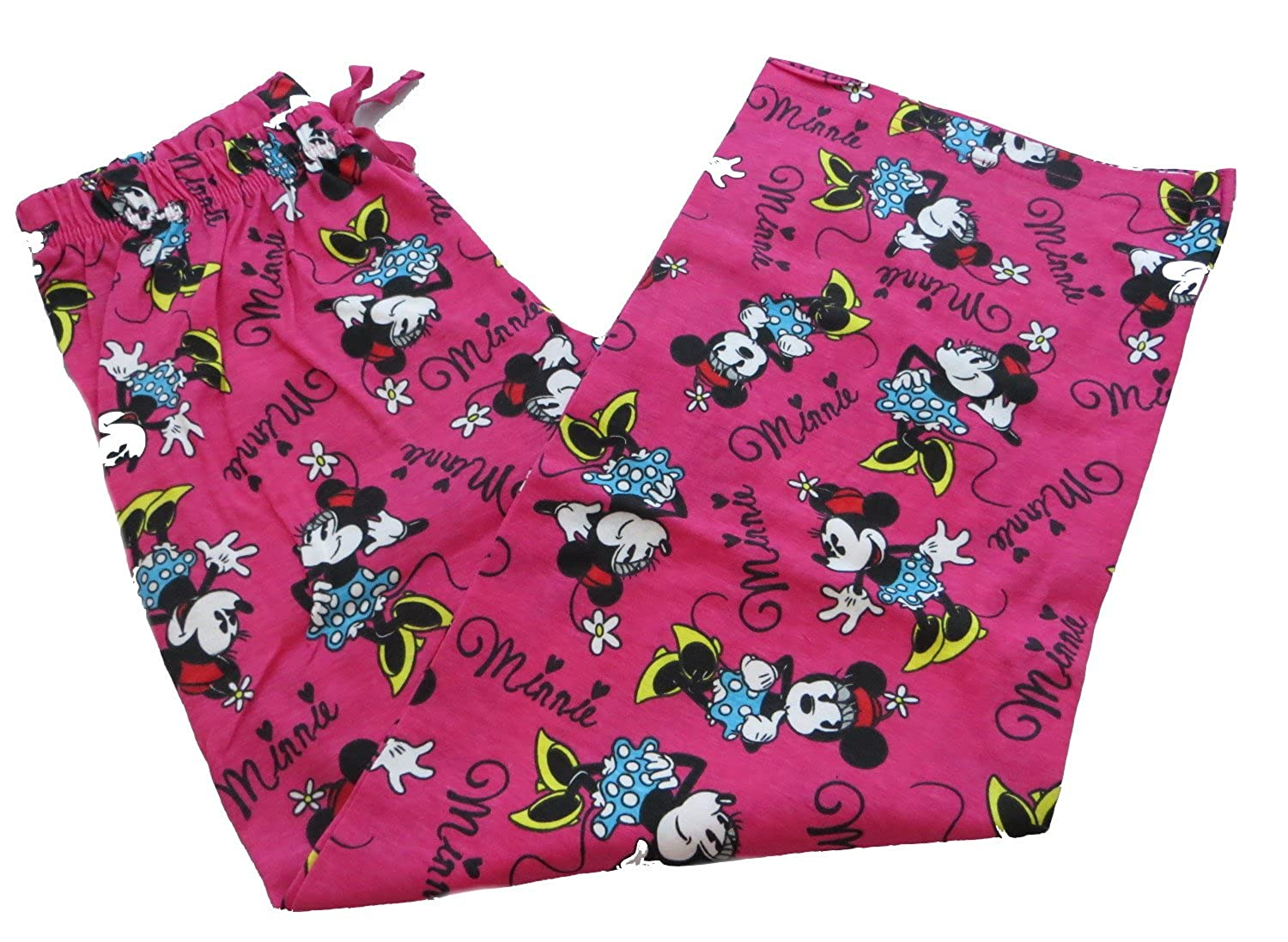 Disney Minnie Mouse Girl's Pink Lounge Pants Age 7-13 Years Available
